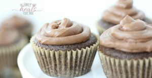 Paleo Cupcakes with Chocolate Buttercream Frosting (Fast & Easy!) | The Family That Heals Together