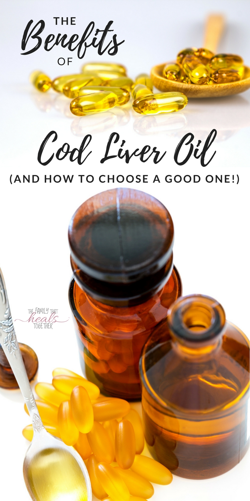Do you think you know about the benefits of cod liver oil? You may be surprised at everything it can do- and which ones you should (& SHOULDN'T buy)!  Learn more from The Family That Heals Together
