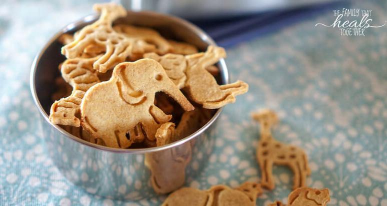 Animal Cracker Recipe for Paleo & GAPS Diet