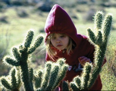 San Diego North - child with cactus