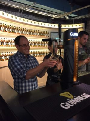 Guinness storehouse with kids