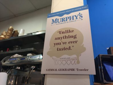 Murphy's ice cream - what to do in Killarney Ireland