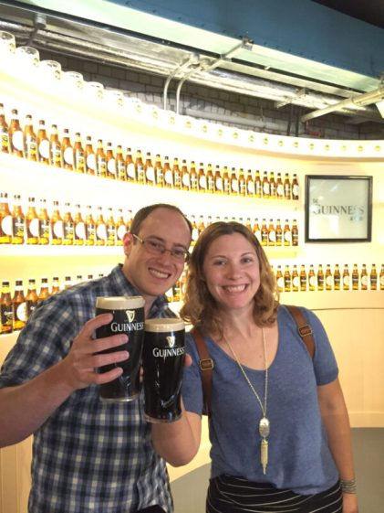 Guinness Storehouse in Dublin with kids