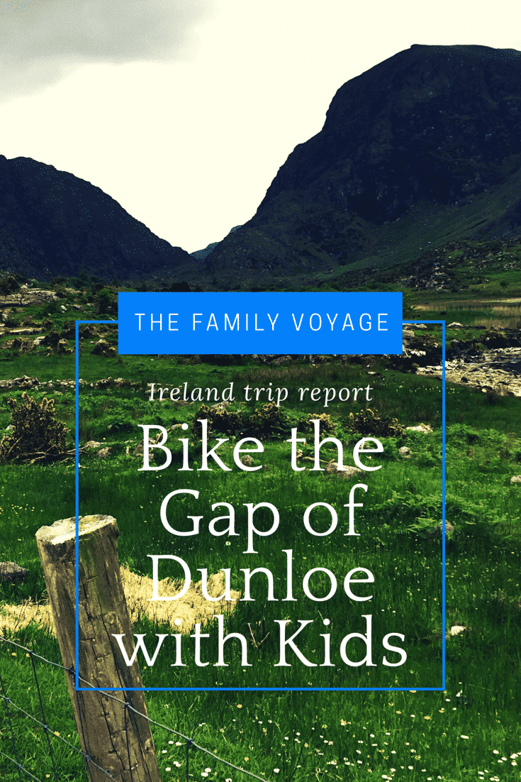 Bike the Gap of Dunloe Killarney Ireland with Kids