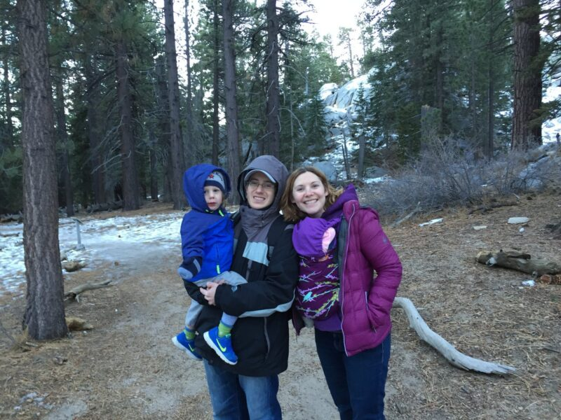 Palm Springs Aerial Tram with kids