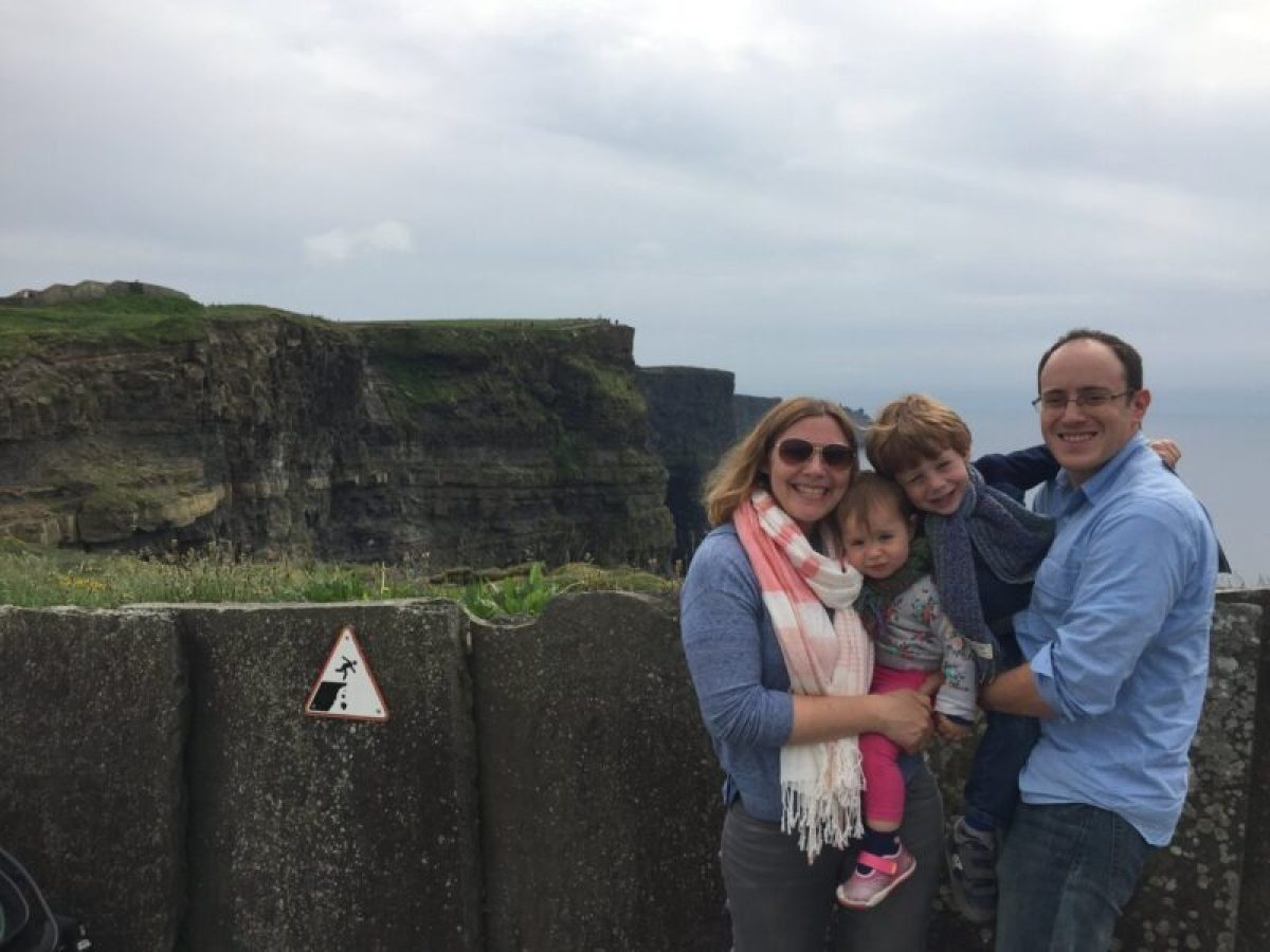 County Clare with kids