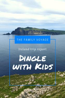 Dingle Ireland with kids