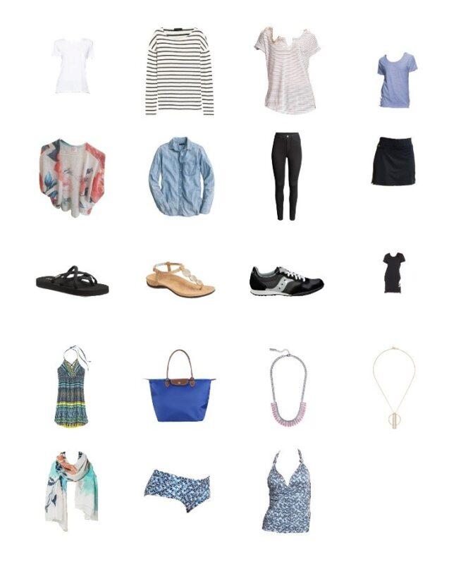Croatia packing list for summer