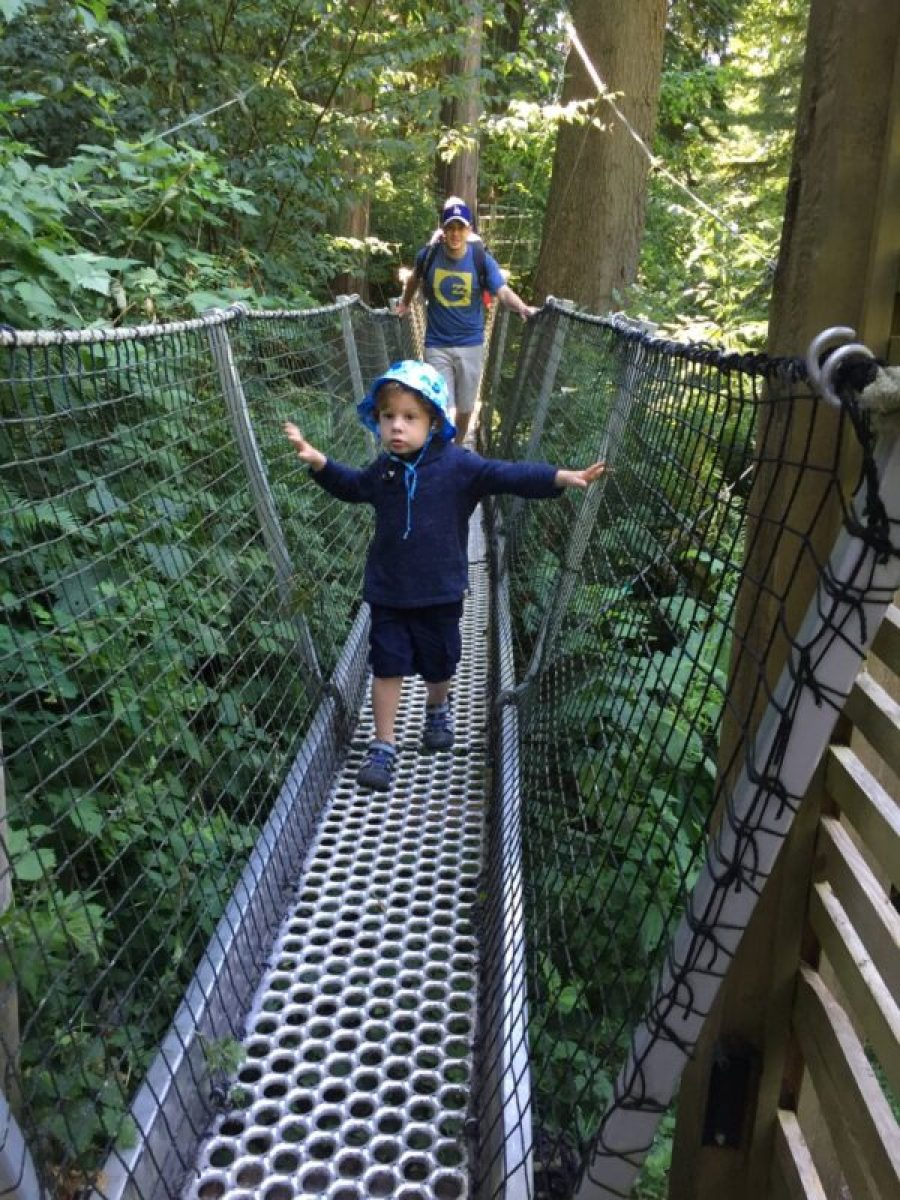 UBC Canopy Walk in vancouver