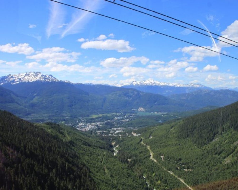 Whistler-Blackcomb peak-to-peak tram
