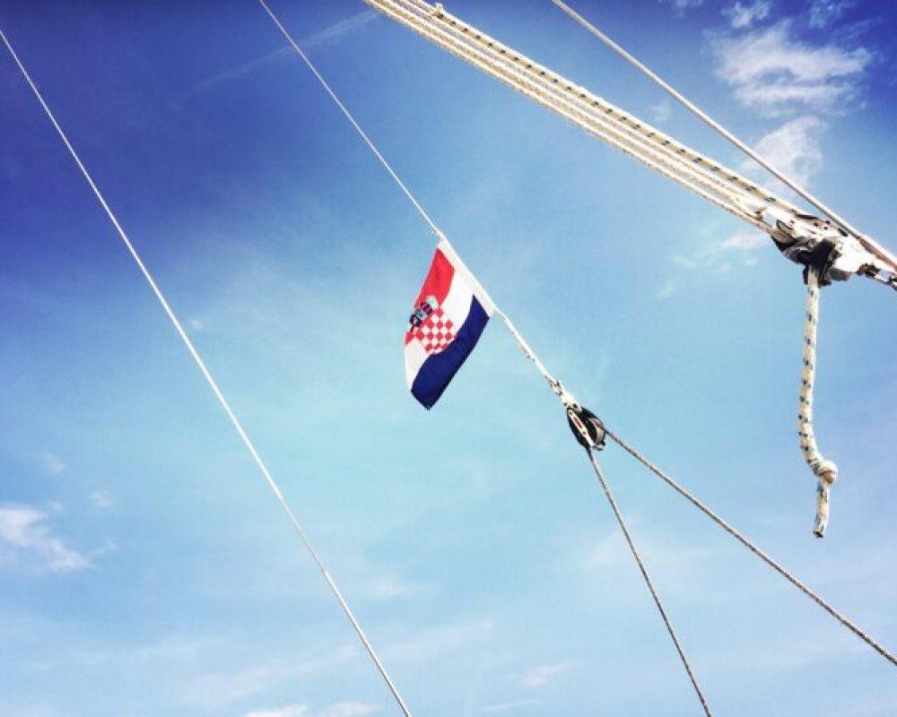 Croatia sailing trip with kids
