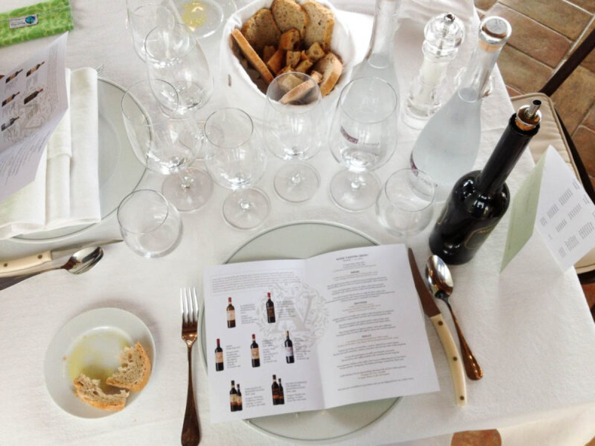 wine tasting and food pairing