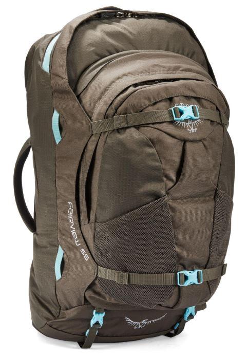 Osprey Fairview 55 best backpack for women