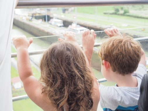 Miraflores locks - panama city panama with kids