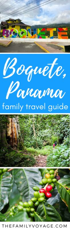 We absolutely loved visiting #Boquete #Panama! Click to find out why it's such an amazing place for #familytravel. Boquete has it all - beautiful scenery, outdoor activities, and a relaxed vibe. Add it to your #VisitPanama list!