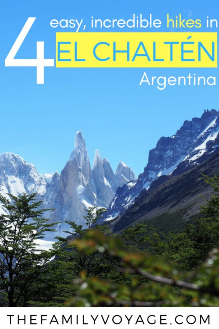 Trying to plan the most epic South America trip ever? PIN and CLICK to see why you need to go to El Chalten - find the best hikes, where to eat and where to stay in this stunning town in Patagonia, Argentina. #hiking #outdoors #elchalten #patagonia #argentina #southamerica #bucketlist #adventuretravel #familytravel