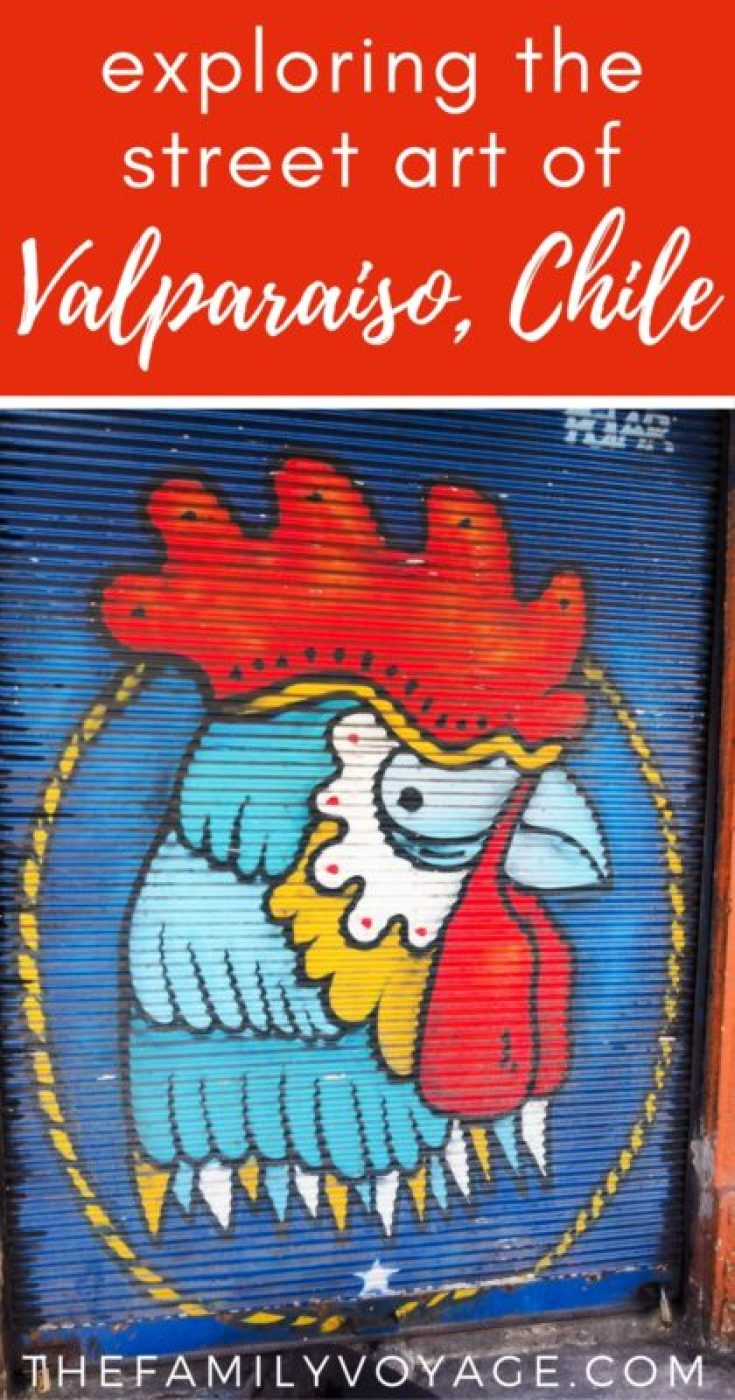Find out why this FREE walking tour made us fall in love with Valparaiso, Chile and its world-famous street art! #budgettravel #thriftytravel #travel #chile #valparaiso #streetart #tour