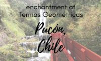 Termas Geometricas en Pucon Chile