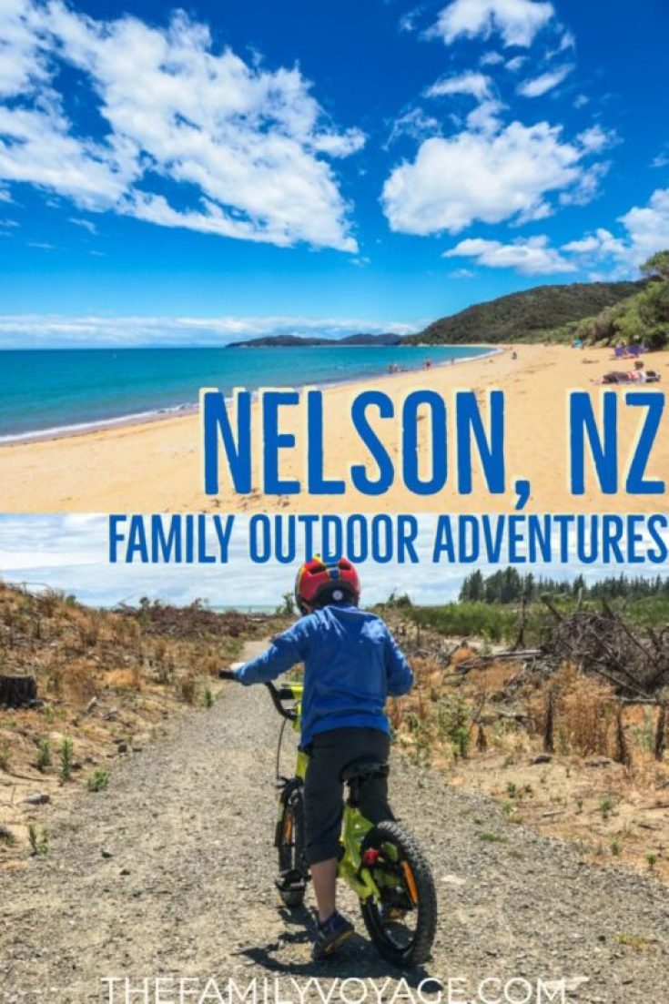 When you're planning your family trip to the South Island of New Zealand, don't miss these top things to do in Nelson and Tasman! #NewZealand #Nelson #Tasman #familytravel