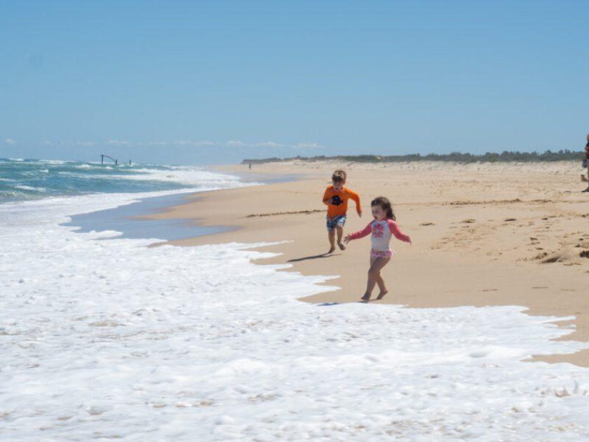 Ninety Mile beach, Lakes Entrance Australia