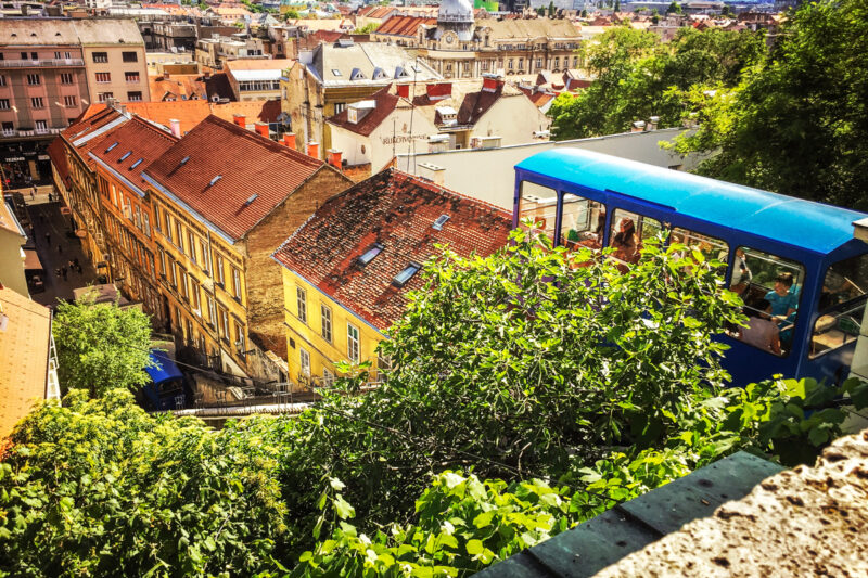 Zagreb funicular: things to do in zagreb croatia