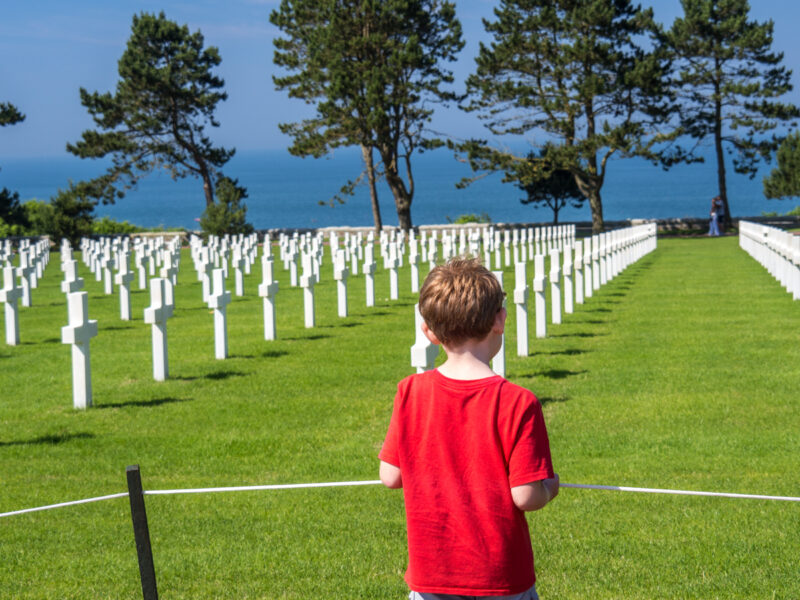 Exploring the D-Day sites of Normandy with kids