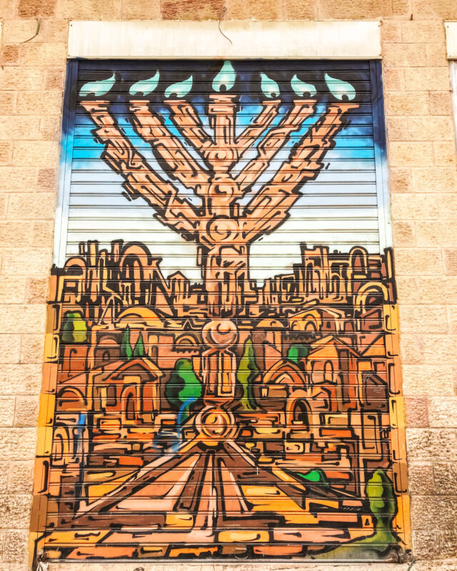 Street art in Jerusalem, Israel