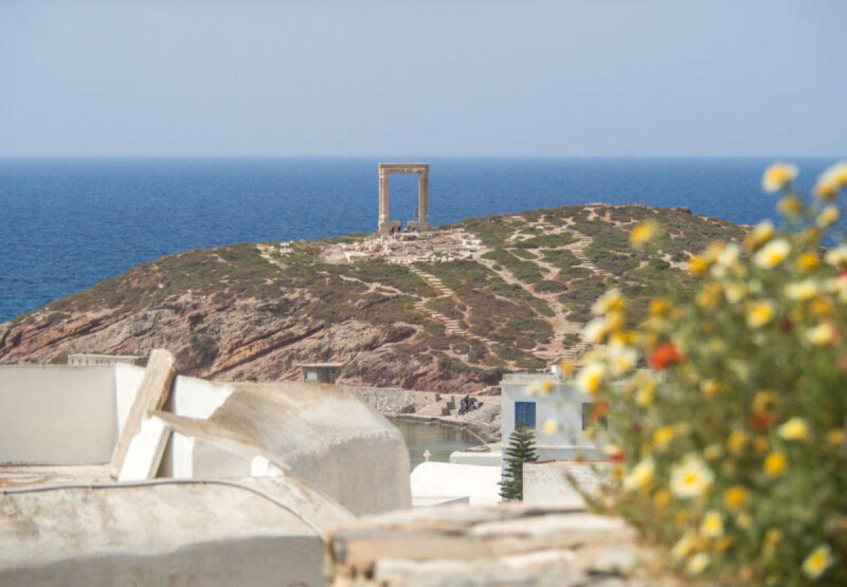 Portara of Naxos, Greece #Naxos #Greece
