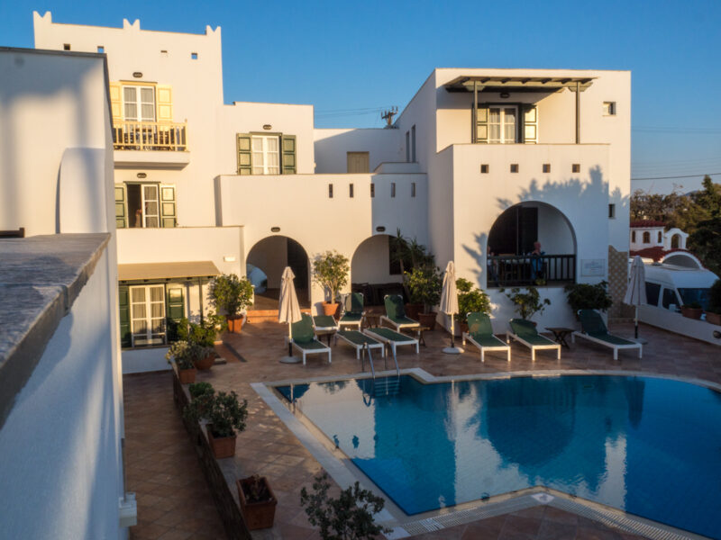 Hotel Spiros on Naxos, Greece #Naxos #Greece