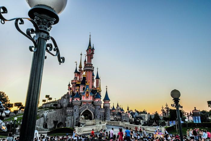 Disneyland Paris castle #DisneylandParis #Paris