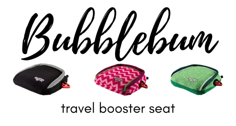 We spent a year with the Bubblebum inflatable booster seat. Read our Bubblebum review to find out why it will revolutionize your family trips. #carseats #familytravel #travelwithkids #travelgear #parenting