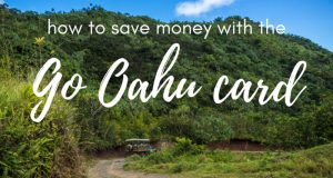 There are so many things to do on Oahu, Hawaii that you could spend an arm and a leg to do them all. But is there a better way to see Hawaii on a budget? Read our review of the Go Oahu card to find out how you can see the best of Oahu without going broke! #Oahu #Hawaii #frugal #budgettravel #luxurytravel