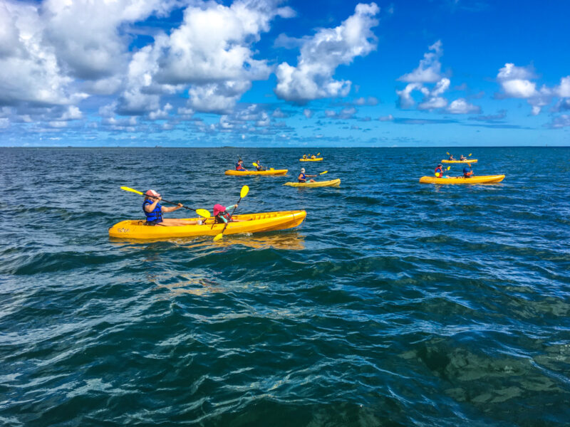 Kayaking on Oahu with kids: Holokai Adventures - The Family