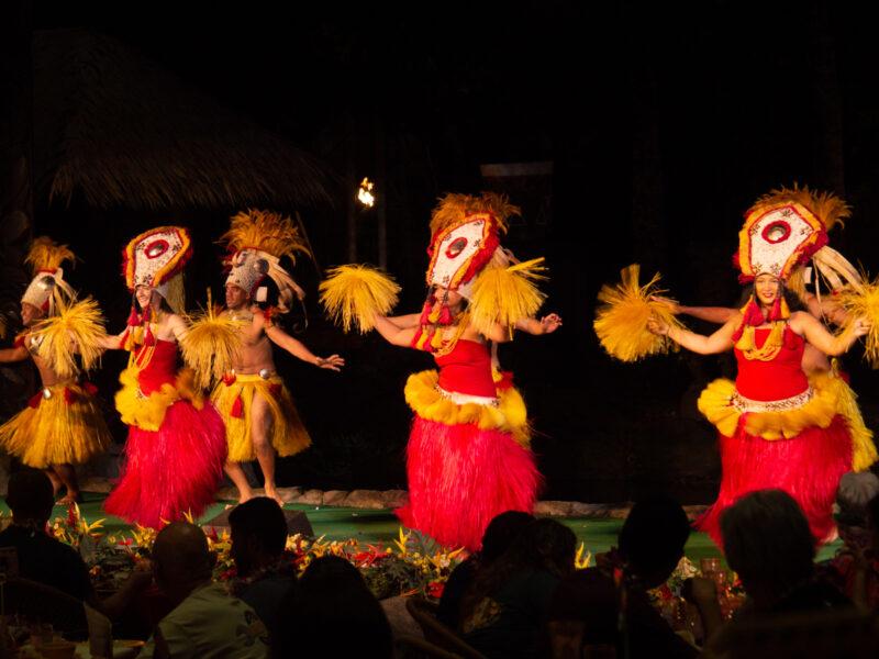 Polynesian Cultural Center luau