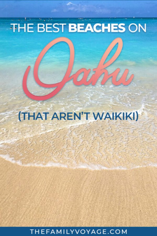 Relaxing on the beach is absolutely one of the best things to do on Oahu, but where should you go to escape the crowds of Waikiki? Check out the best beaches on Oahu, Hawaii right here! From the North Shore to the Windward Coast, we've got some great spots you've never heard of but won't want to miss. #Oahu #Hawaii #travel