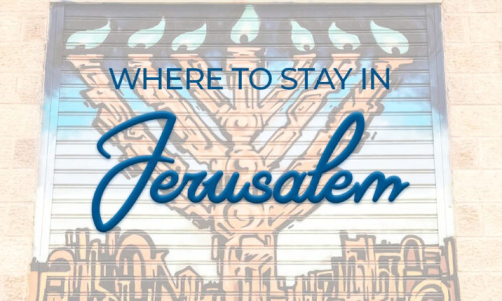 Are you planning Jerusalem, Israel travel? We've been visiting Jerusalem for more than a decade and we've scouted out the best places to stay in Jerusalem for each neighborhood and budget. Whether you're traveling solo or visiting Israel with kids, we've got the hostel, hotel or apartment for you! #Jerusalem #Israel #travel