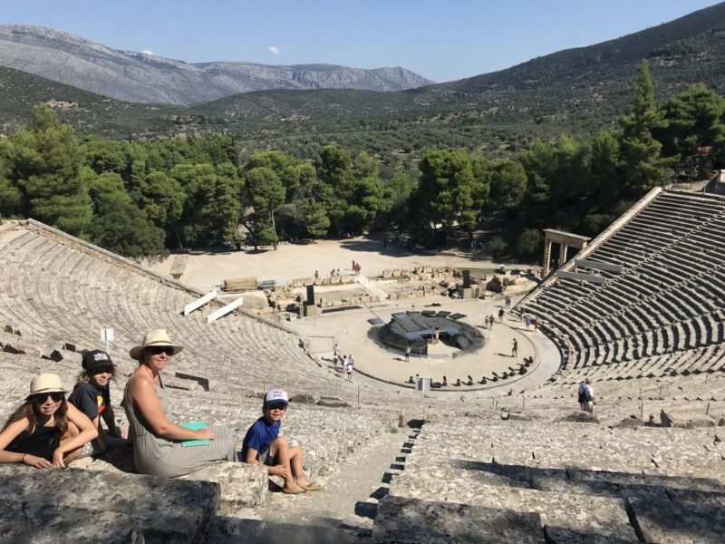 Percy Jackson tour for Greece family holidays