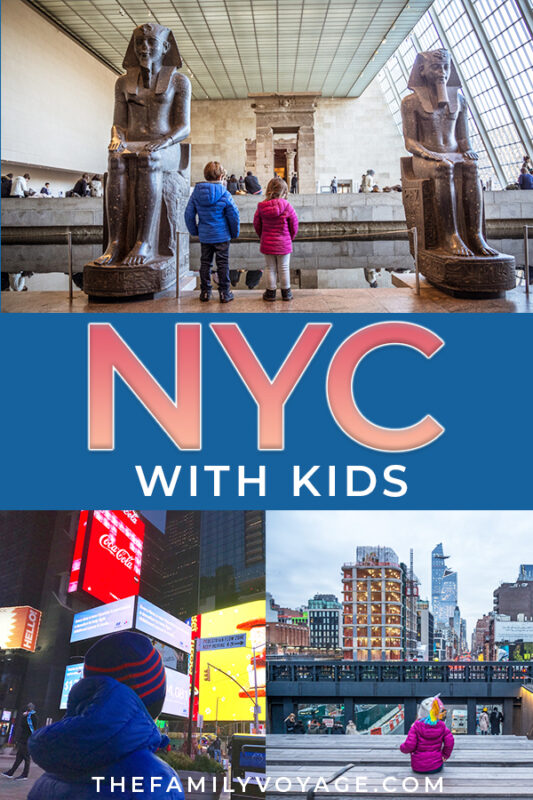 What should you do when you visit NYC with kids? We've got the best kid-friendly attractions for your family trip to New York (plus ways to save big bucks in the Big Apple). CLICK to read and SAVE it for later!