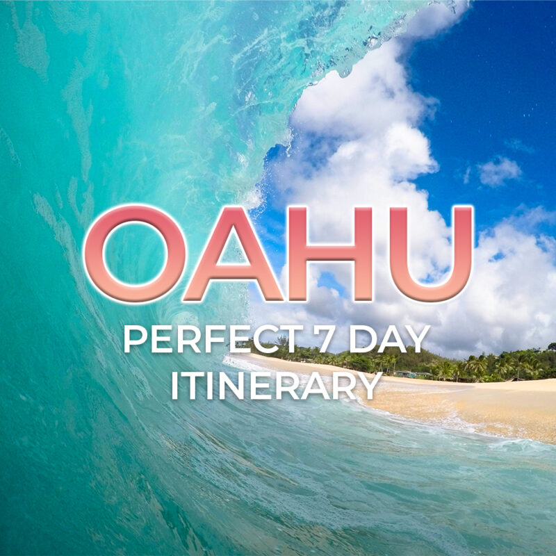 Oahu itinerary: 7 days in paradise