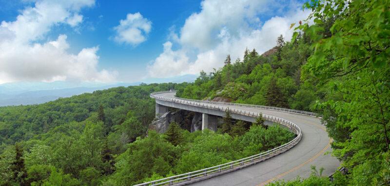 Skyline Drive Instagram spots in Shenandoah National Park