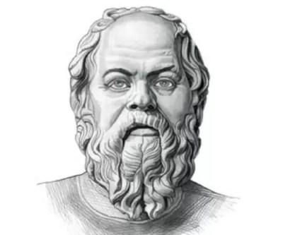 The ancient Greek thinker, Socrates.