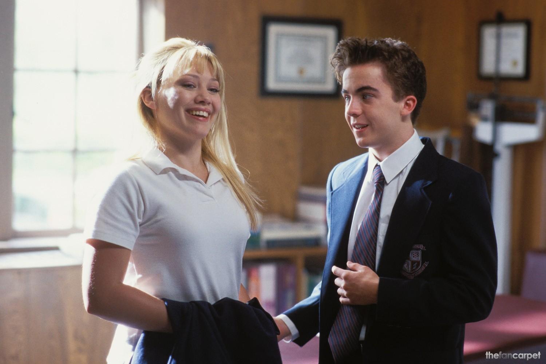 Frankie Muniz,Hilary Duff