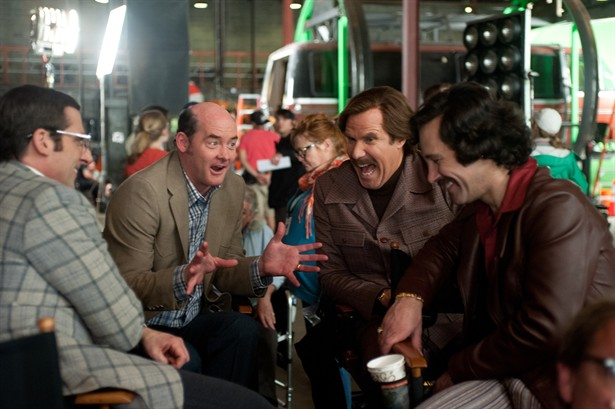 David Koechner,Paul Rudd,Steve Carell,Will Ferrell
