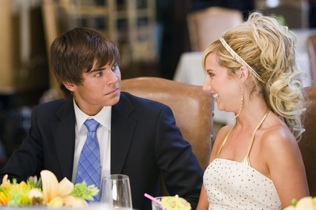 Ashley Tisdale,Zac Efron