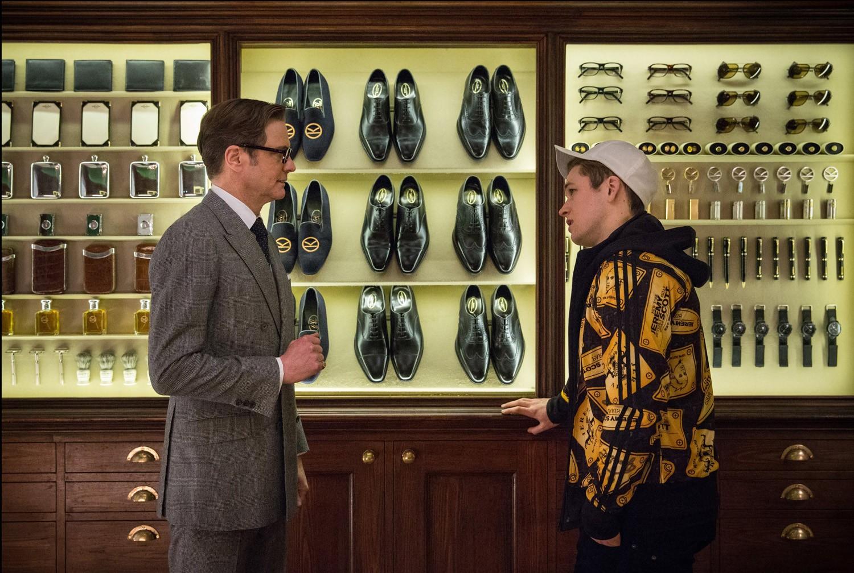 Colin Firth,Taron Egerton