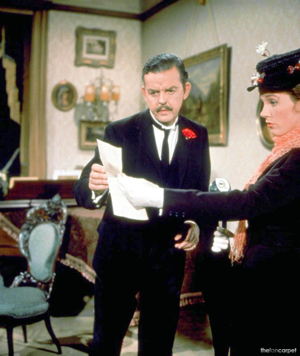 David Tomlinson,Julie Andrews