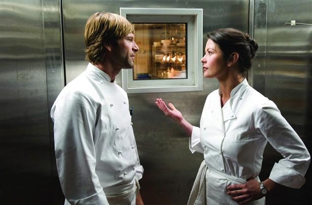 Aaron Eckhart,Catherine Zeta-Jones