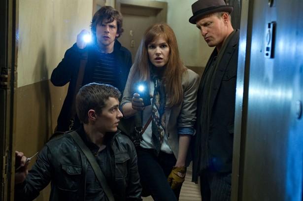 Dave Franco,Isla Fisher,Jesse Eisenberg,Woody Harrelson