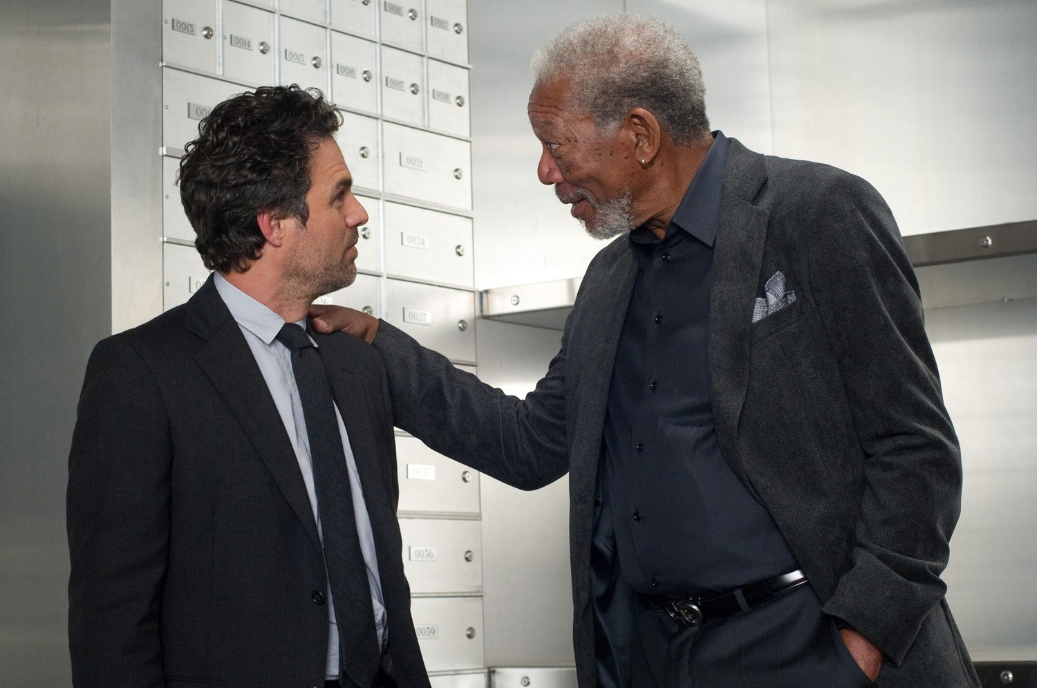 Mark Ruffalo,Morgan Freeman
