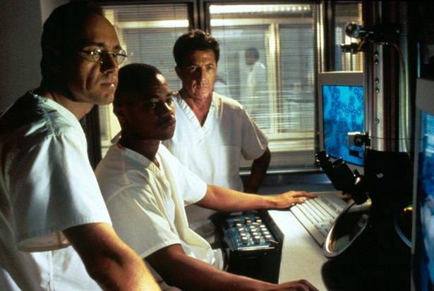 Cuba Gooding Jr.,Dustin Hoffman,Kevin Spacey